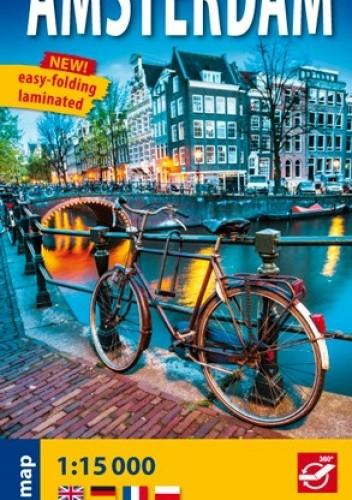 Okładka książki Amsterdam. Plan miasta. 1:15 000. ExpressMap