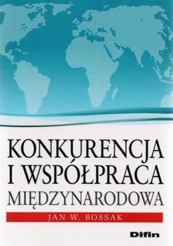 Okładka książki Konkurencja i współpraca międzynarodowa
