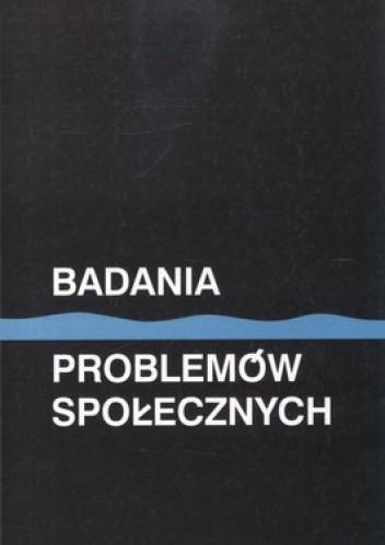 Okładka książki Badania problemów społecznych
