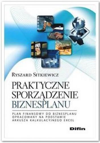 Okładka książki Praktyczne sporządzenie biznesplanu