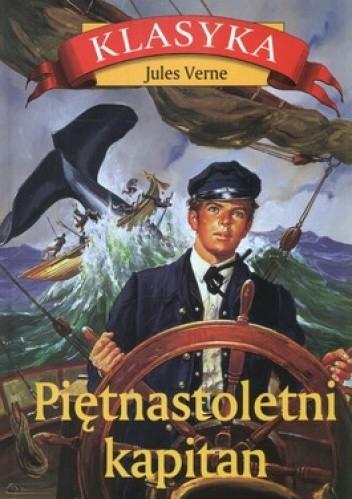 Okładka książki Piętnastoletni kapitan