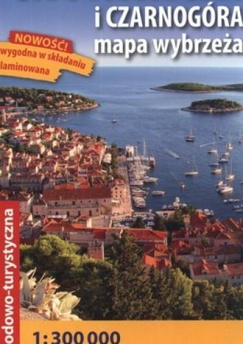 Okładka książki Chorwacja i Czarnogóra. Mapa wybrzeża. Mapa samochodowo-turystyczna. 1:300 000. Express Map
