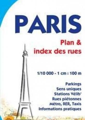 Okładka książki Paris. Plan miasta. 1:10 000 Michelin
