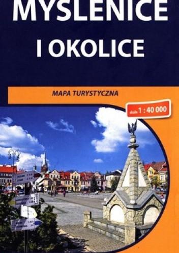 Okładka książki Myślenice i okolice. Mapa turystyczna. 1 : 40 000. Compass