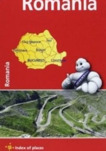 Okładka książki Romania. Mapa samochodowa. 1:750 000 Michelin