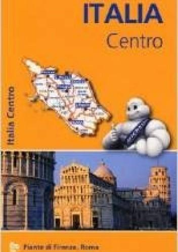 Okładka książki Italy Centro. Mapa samochodowa. 1:4 000 000 Michelin