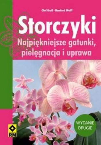 Okładka książki Storczyki. Najpiękniejsze gatunki, pielęgnacja i uprawa