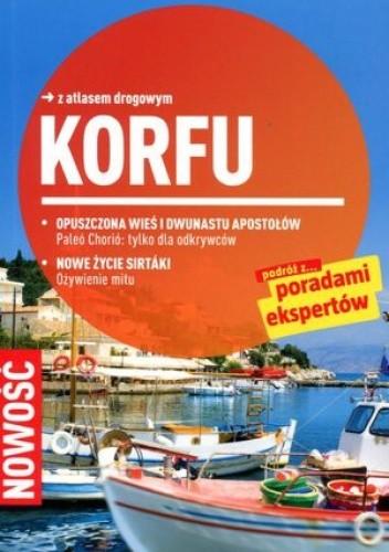 Okładka książki Korfu. Przewodnik Marco Polo z atlasem drogowym