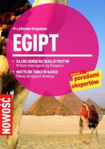 Okładka książki Egipt. Przewodnik Marco Polo z atlasem drogowym