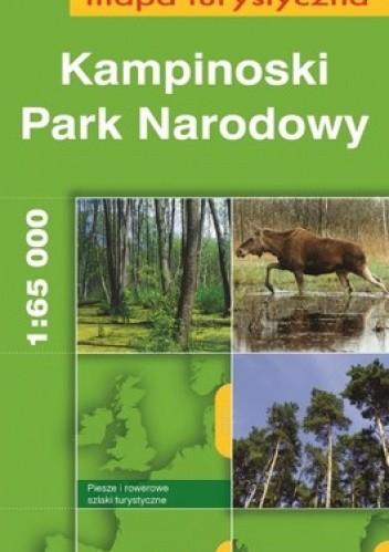 Okładka książki Kampinowski Park Narodowy. Mapa turystyczna. 1:65 000. Europilot