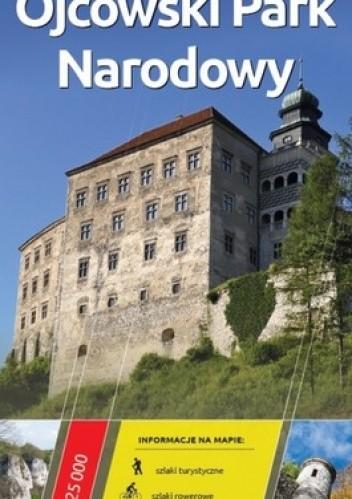 Okładka książki Ojcowski Park Narodowy. Mapa turystyczna. 1 : 25 000. Europilot
