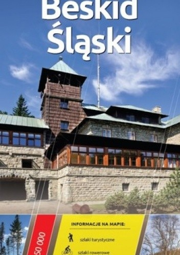 Okładka książki Beskid Śląski. Mapa turystyczna. 1 : 50 000. Europilot