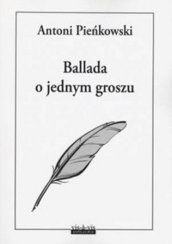 Okładka książki Ballada o jednym groszu