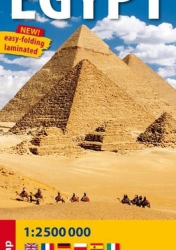 Okładka książki Egypt. Mapa samochodowa. 1:2500 000 ExpressMap