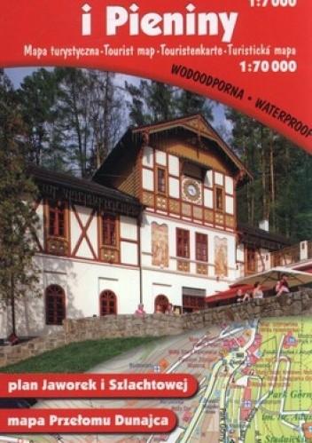 Okładka książki Szczawnica. Plan miasta. 1:7000. Pieniny. Mapa turystyczna. 1:70 000 Gauss