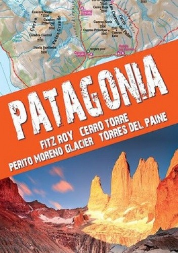 Okładka książki Patagonia. Mapa turystyczna. 1:160 000 TerraQuest