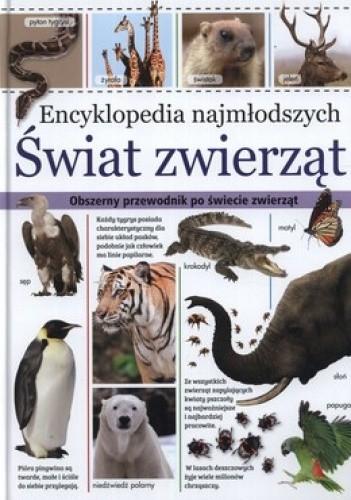 Okładka książki Encyklopedia najmłodszych. Świat zwierząt