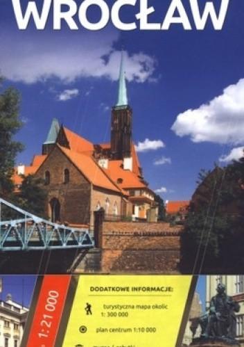 Okładka książki Wrocław. Plan miasta. 1:21 000 Daunpol