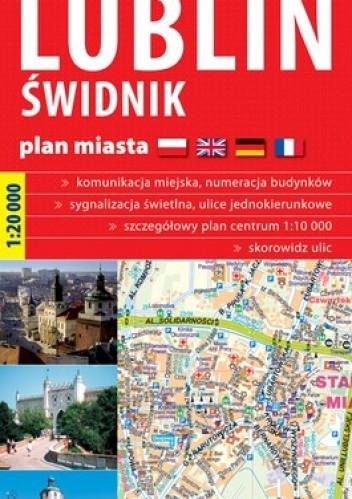 Okładka książki Lublin. Świdnik. Plan miasta. 1:20 000 ExpressMap