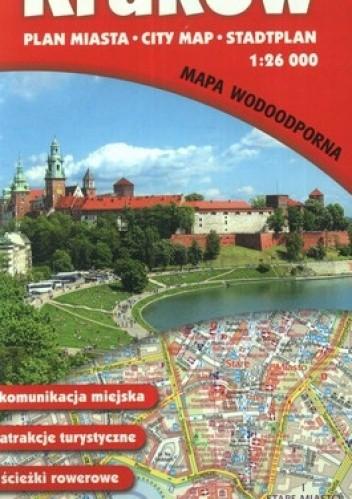 Okładka książki Kraków. Plan miasta. 1:26 000 Gauss