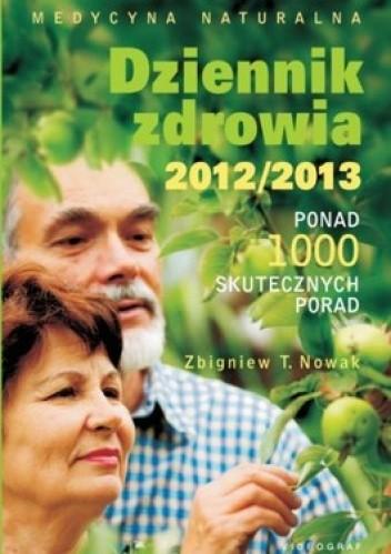 Okładka książki Dziennik zdrowia 2012/2013