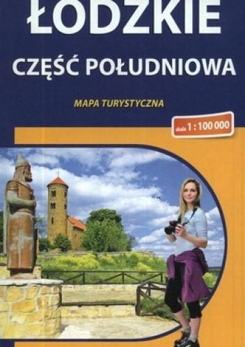 Okładka książki Łódzkie. Część południowa. Mapa turystyczna. 1:100 000 Compass