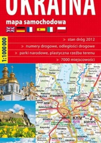 Okładka książki Ukraina. Mapa samochodowa . 1:1 000 000 ExpressMap