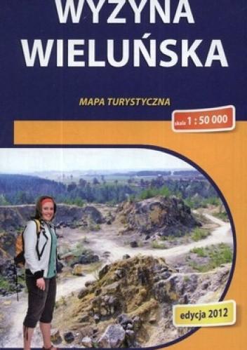 Okładka książki Wyżyna Wieluńska. Mapa turystyczna. 1:50 000 Compass