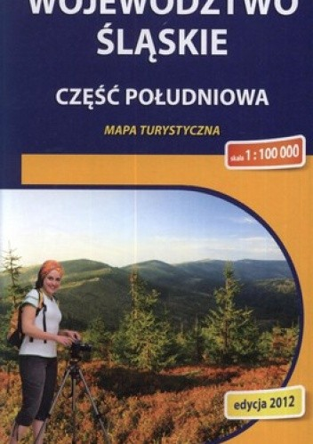 Okładka książki Województwo Śląskie. Część południowa. Mapa turystyczna. 1:100 000 Compass