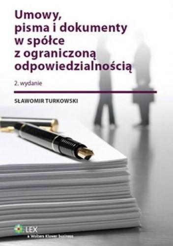 Okładka książki Umowy, pisma i dokumenty w spółce z ograniczoną odpowiedzialnością