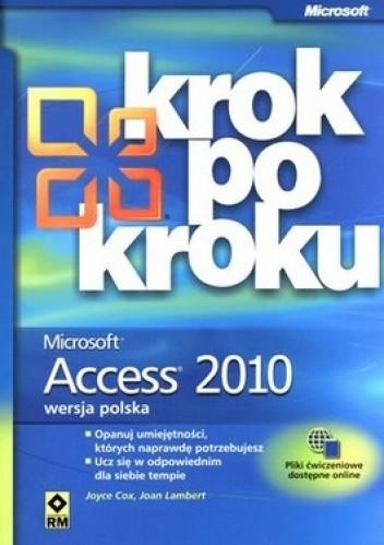 Okładka książki Microsoft Access 2010. Krok po kroku