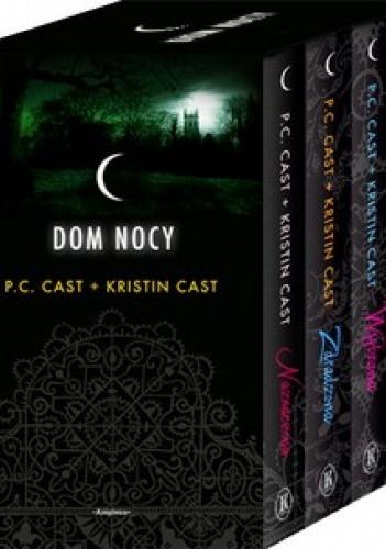 Okładka książki Dom nocy. Tom 1, 2, 3, 4 (komplet)