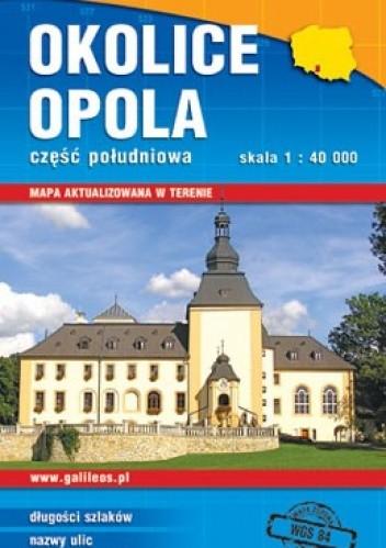 Okładka książki Okolice Opola. Część południowa. 1:40 000 Plan
