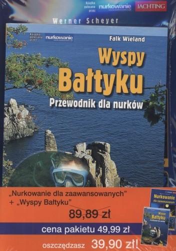 Okładka książki Wyspy Bałtyku. Przewodnik dla nurków + Nurkowanie dla zaawansowanych (komplet)
