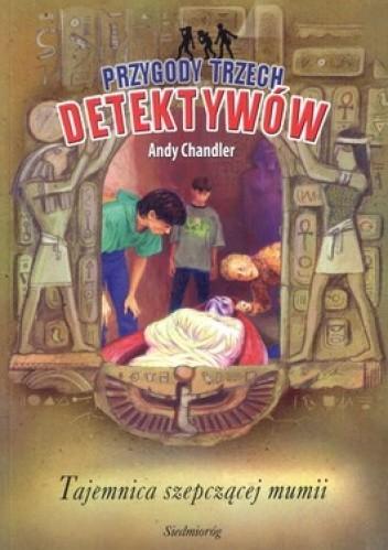 Okładka książki Tajemnica szepczącej mumii