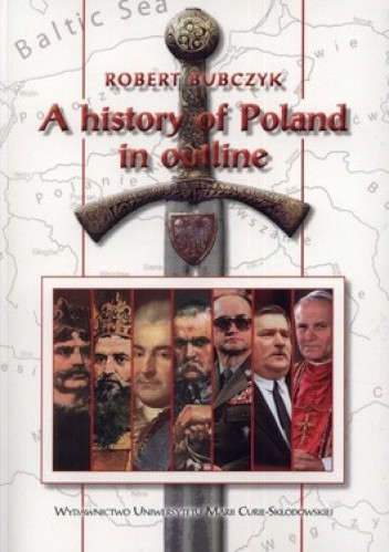 Okładka książki A History of Poland in outline