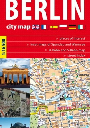 Okładka książki Berlin. Plan miasta. 1:16 500 ExpressMap