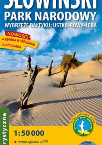Okładka książki Słowiński Park Narodowy. Wybrzeże Bałtyku: Ustka, Rowy, Łeba. Mapa turystyczna. 1:50 000 ExpressMap