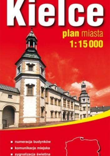 Okładka książki Kielce. Plan miasta. 1:15 000 ExpressMap
