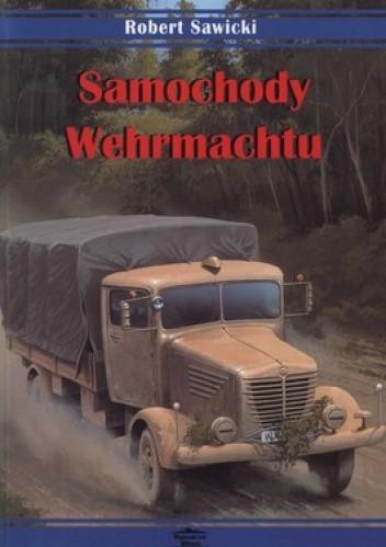 Okładka książki Samochody Wehrmachtu