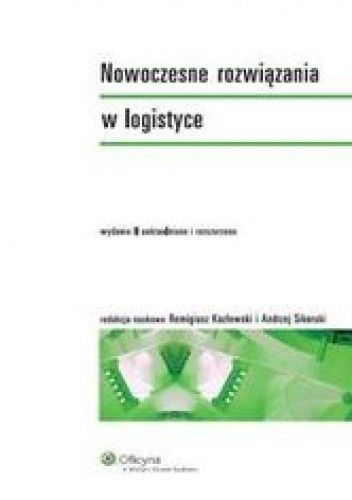 Okładka książki Nowoczesne rozwiązania w logistyce