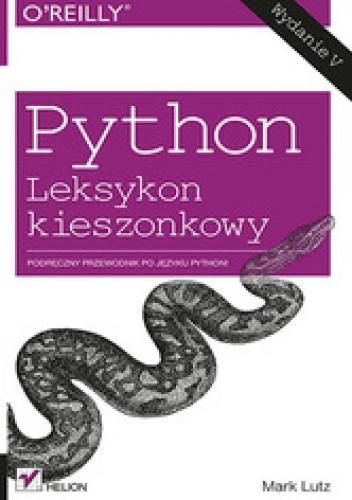 Okładka książki Python. Leksykon kieszonkowy. Wydanie V