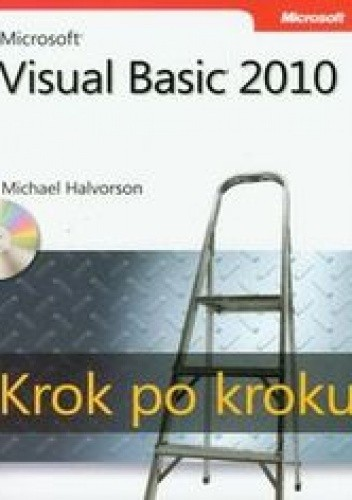 Okładka książki Microsoft Visual Basic 2010 Krok po kroku + CD
