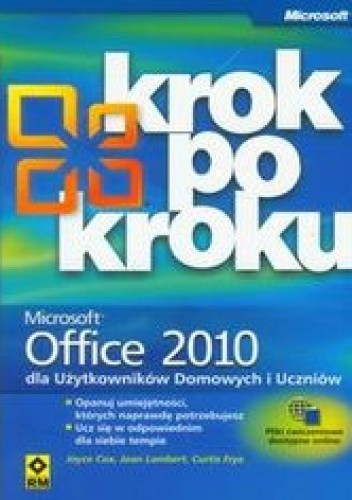 Okładka książki Office 2010 krok po kroku