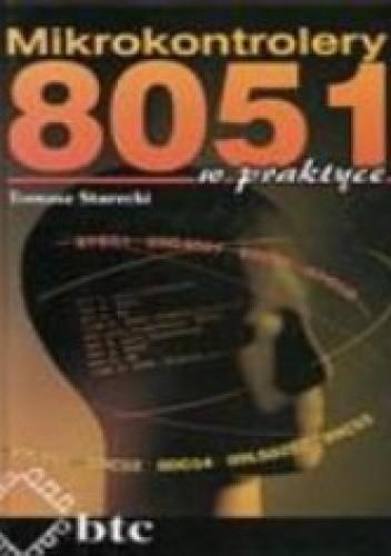 Okładka książki Mikrokontrolery 8051 w praktyce