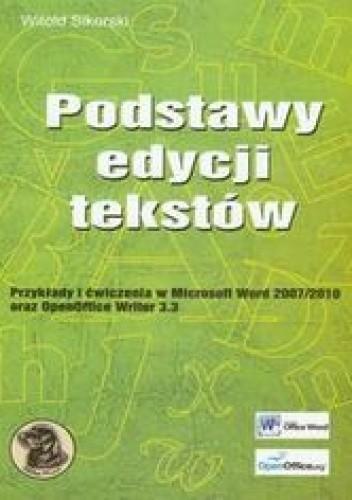 Okładka książki Podstawy edycji tekstów