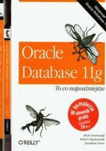 Okładka książki Oracle Database 11g Oracle PL/SQL + Kieszonkowy słownik języka Oracle PL/SQL
