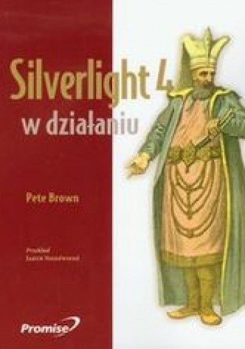 Okładka książki Silverlight 4 w działaniu