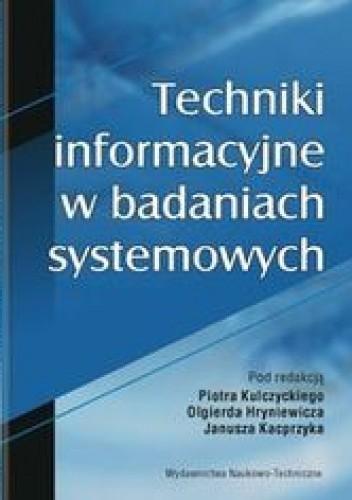 Okładka książki Techniki informacyjne w badaniach systemowych