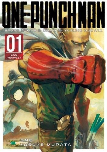 Okładka książki One-Punch Man tom 1 - Cios pierwszy